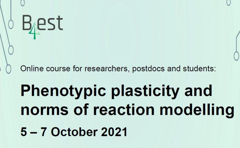 B4EST Phenotypic Plasticity Course